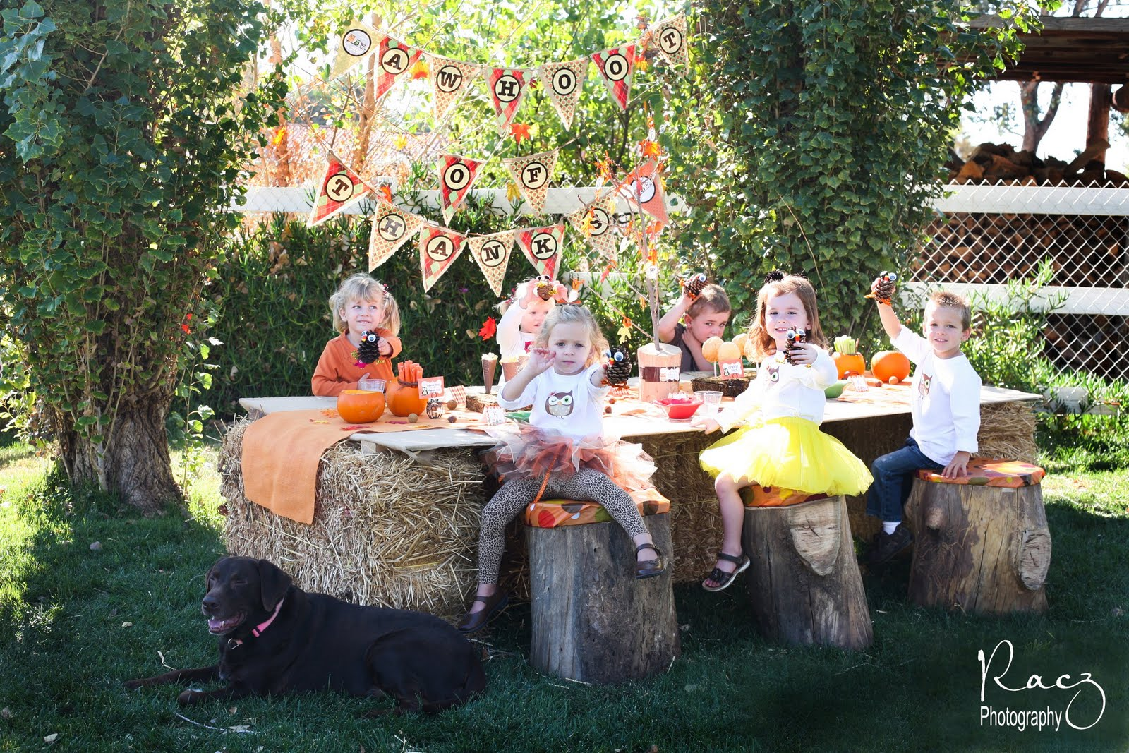 Hosting Tip Throwing Fall Outdoor Childrens Parties