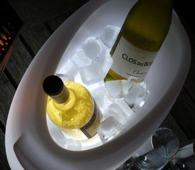 SoFresh Light Up Wine Bottle Cooler at Teakwood Central