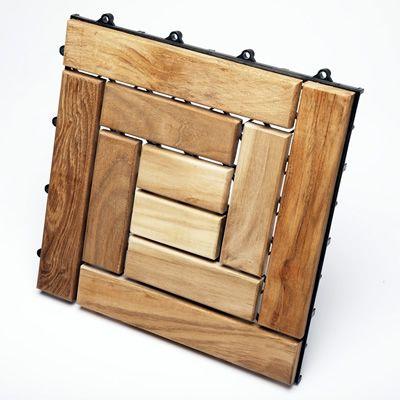 natural finish teak le click floor tile teakwoodcentral