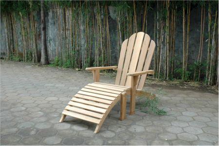 Teak Adirondack chair at Teakwood Central