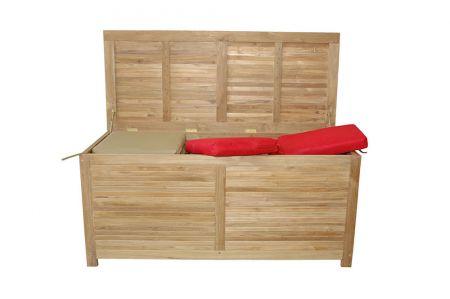 Camrose Teak Storage Box - TeakwoodCentral