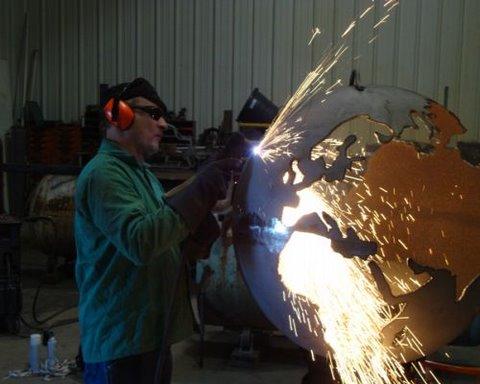 fire pit art rick wittring teakwood central