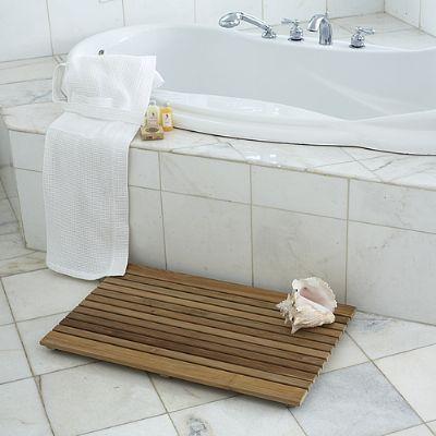http://www.teakwoodcentral.com/shower-spa-door-mats
