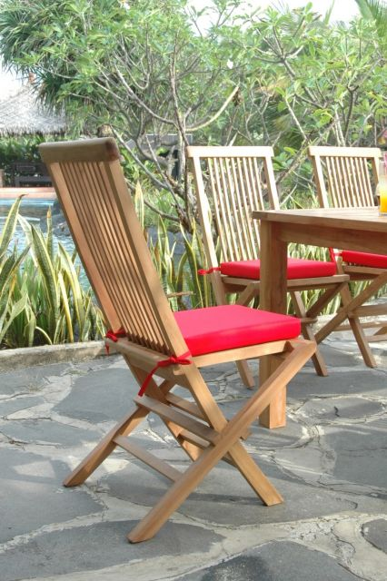bristol teak folding chair teakwoodcentral