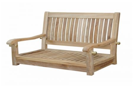 Anderson Straight Teak Garden Swing Bench Father's Day Gift
