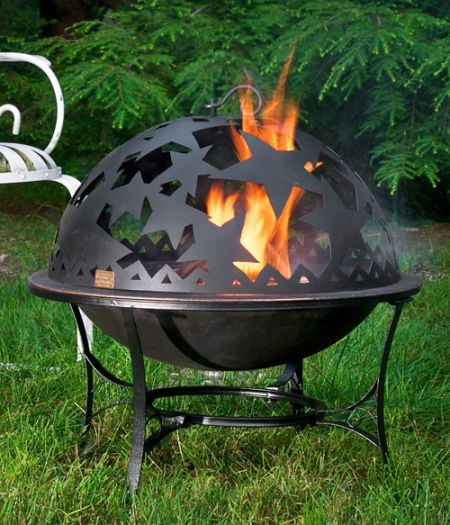 starry night dome fire pit cover teakwoodcentral