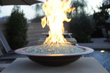 fire pit with fire stones teakwoodcentral